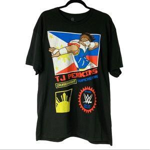 WWE TJ Perkins Dab Cruiserweight Tee Size XL